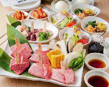 3,900日元套餐 (13道菜)