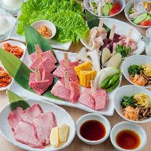 6,820日元套餐 (15道菜)