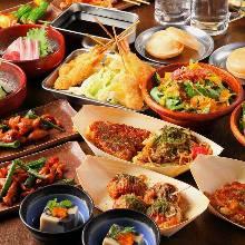 3,480日元套餐 (9道菜)