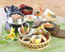 2,592日元组合餐 (5道菜)