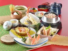 3,672日元套餐 (9道菜)