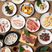 3,758日元套餐 (100道菜)
