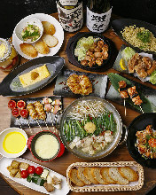 6,458日元套餐 (10道菜)