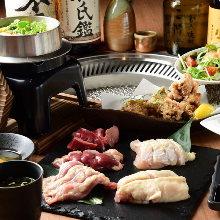 5,500日元套餐 (9道菜)