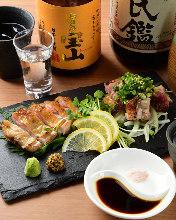 6,500日元套餐 (10道菜)
