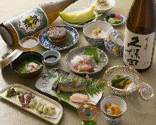 9,900日元套餐 (9道菜)