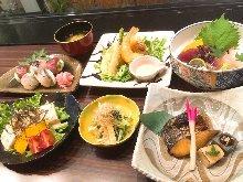 4,400日元套餐 (8道菜)