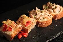 意大利烤面包片