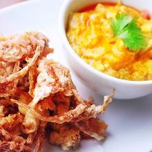 泰式咖喱软壳蟹