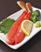 蟹肉(生鱼片)
