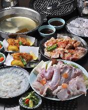9,980日元套餐 (8道菜)