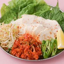 蔬菜猪肉卷
