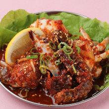 韩式酱螃蟹