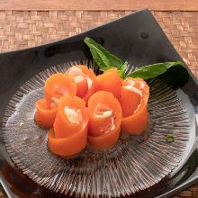 烟熏鲑鱼沙拉