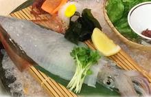 鱿鱼生鱼片