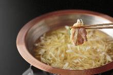 鸡肉涮涮锅