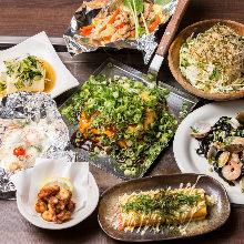 4,500日元套餐 (11道菜)