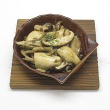 黄油炒蘑菇