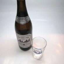 朝日超爽啤酒 中瓶