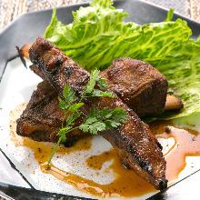 排骨、烧烤菜式