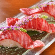 炙烤牛肉寿司