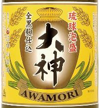 Ryukyu Awamori Ogami Alcohol25