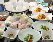 5,600日元套餐 (6道菜)