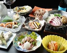 9,980日元套餐 (10道菜)