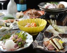 7,980日元套餐 (8道菜)