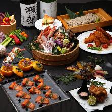 5,500日元套餐 (11道菜)