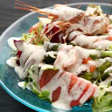 海鲜凯撒沙拉