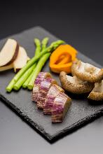 毎日更换烤蔬菜拼盘