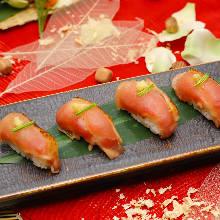 土鸡手握寿司拼盘