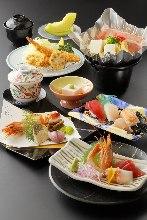 4,860日元套餐 (9道菜)