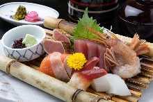 生鱼片套餐