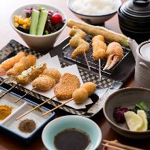 3,800日元套餐 (12道菜)