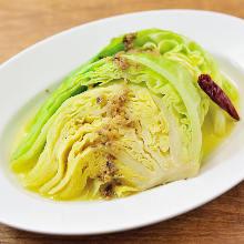 凤尾鱼甘蓝菜