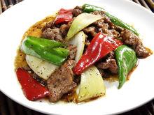 蚝油炒牛肉