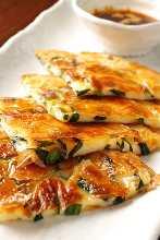 韩式海鲜煎饼