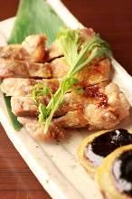 柚子胡椒煎鸡