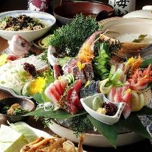 5,600日元套餐 (9道菜)
