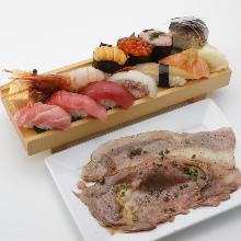 3,608日元组合餐