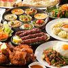 本店人气菜单与泰式打抛饭的套餐(4位以上)