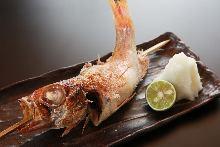 盐烤赤鯥鱼