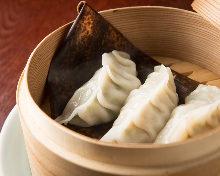 莲藕鲜虾蒸饺