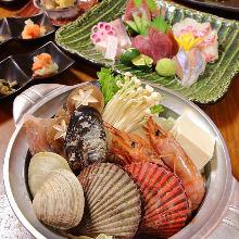 3,540日元套餐 (8道菜)