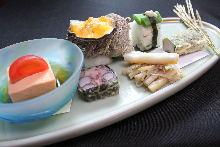 12,500日元套餐 (12道菜)