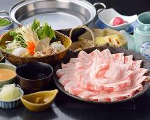 猪肉涮锅自助餐