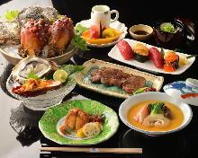 5,940日元套餐 (7道菜)