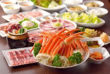 5,400日元套餐 (25道菜)